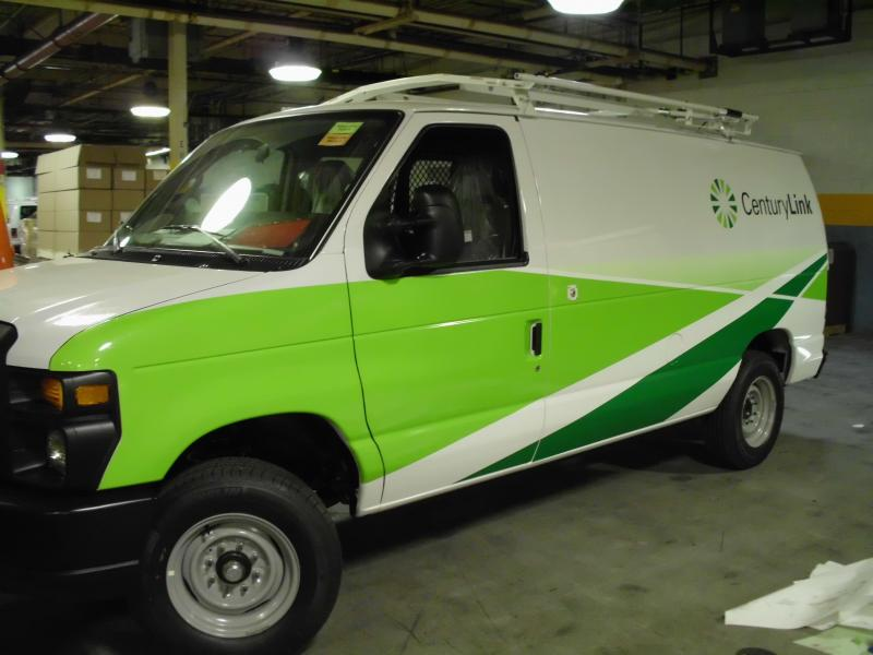 Ford Econoline Van Decals