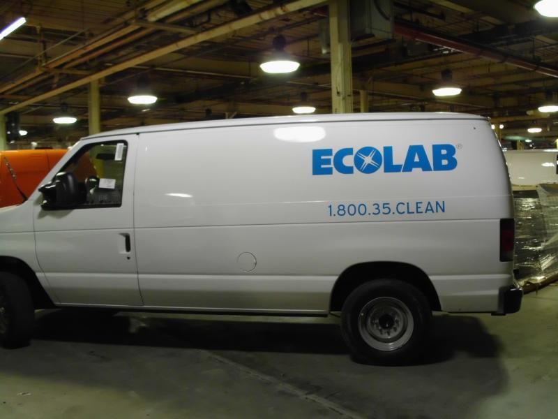 Ford Econoline Van Decal Eco Lab