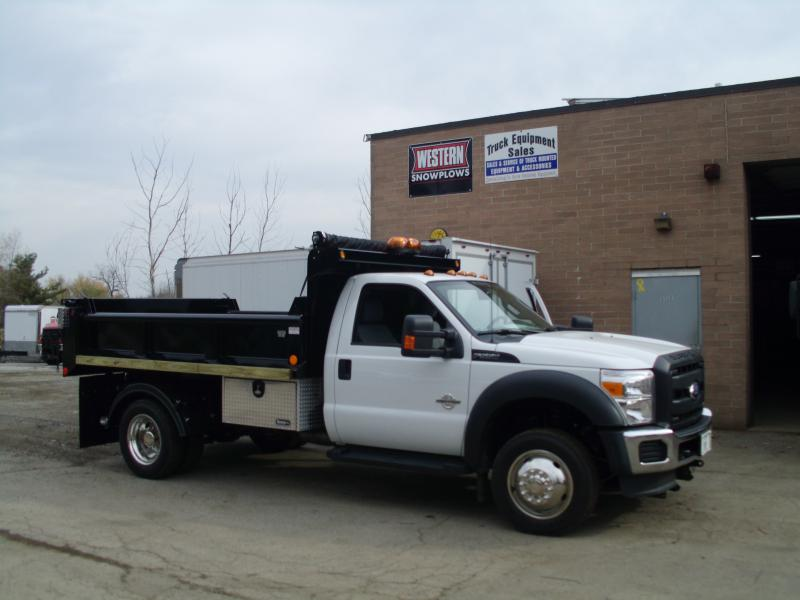 11' Dump With Side Impact Boards & Underbody Toolbox