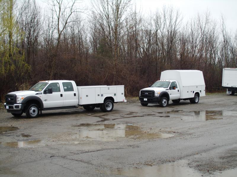 Ford Crew Cab W/11' Open Body & Standard cab W/11' Enclosed Body
