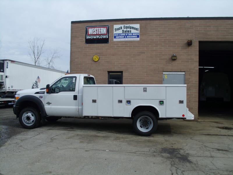 Ford F450 Standard Cab Truck With 11' Open Service Body