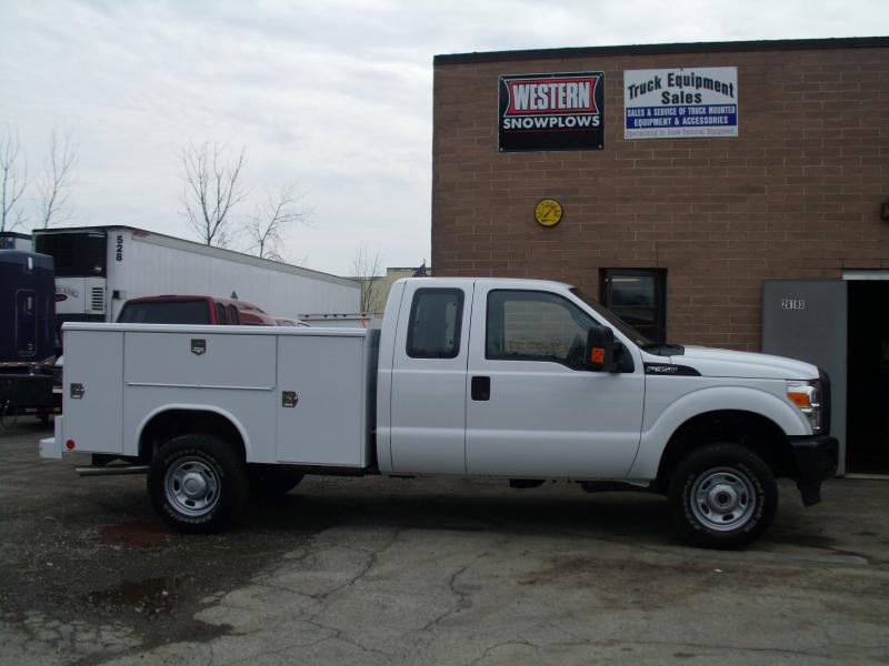 9' Service Body on Extended Cab Ford F350