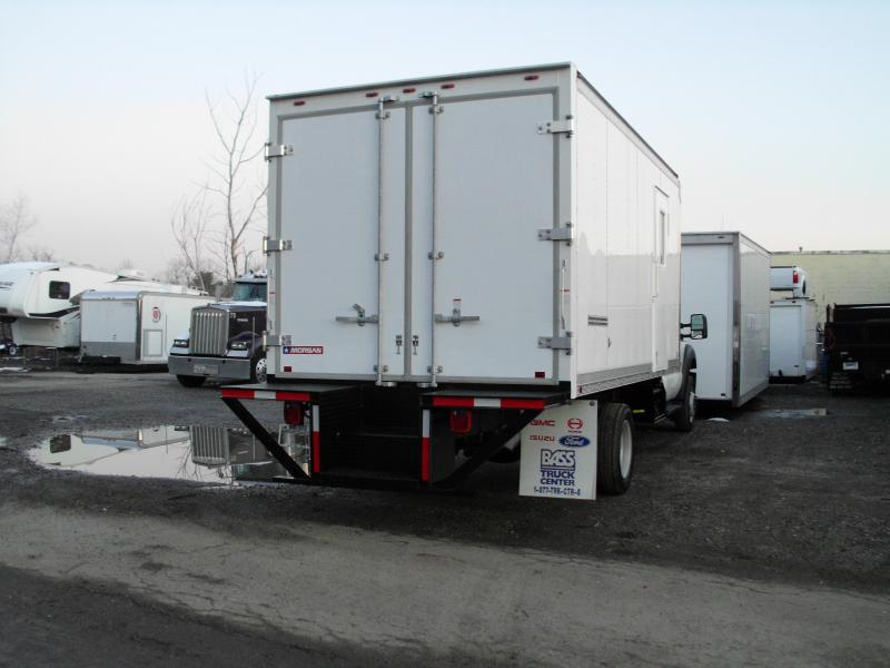 16' Dry Freight Box W/ Chicago Style Bumper & RV Style Side Door