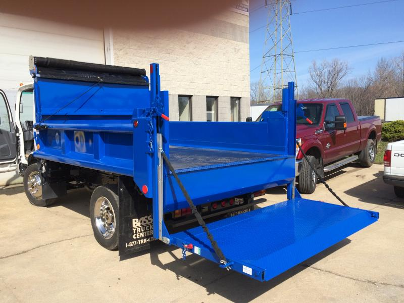 10' Dump Body with Liftgate